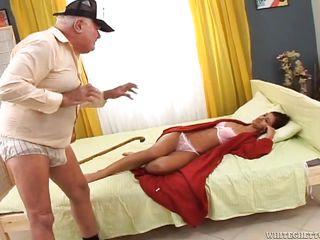 Порно стариков и бабушек