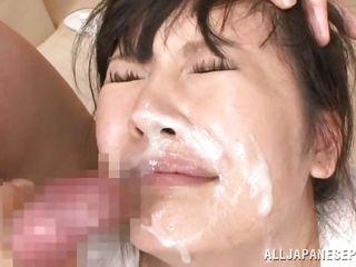 Порно видео сперма на лице